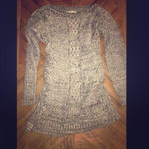 Wool jeweled sweater dress Victoria secret Sz M